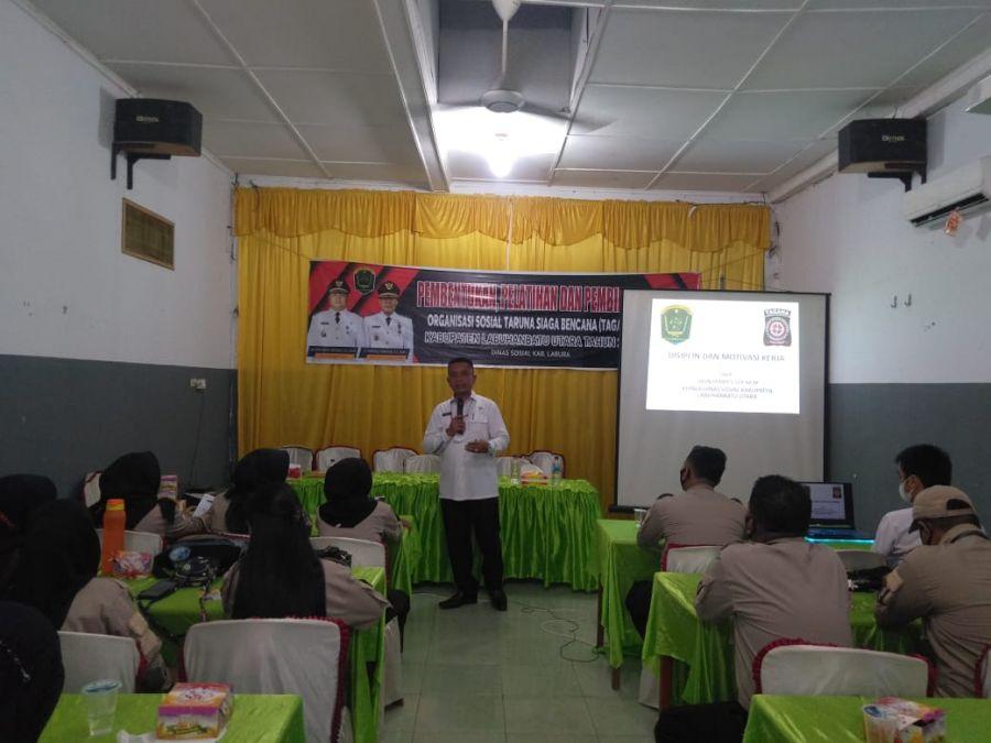 Dinas Sosial Gelar Pelatihan dan Pembinaan Tagana