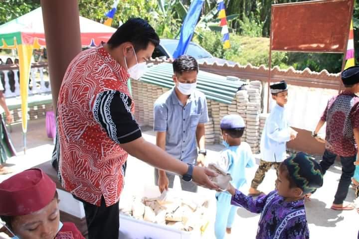 Safari Jumat Labura Hebat di Dusun Kampung Ayu Bersama Bupati dan Wabup