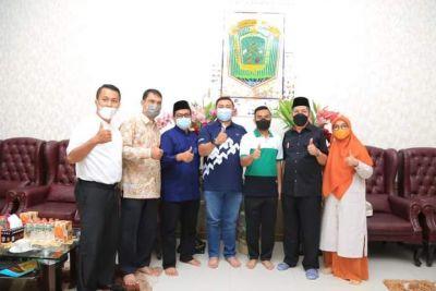 Anggota DPR-RI Kunjungi Rumah Dinas Bupati Labura