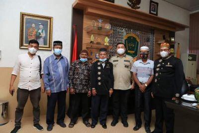 DPD Aceh Sepakat Labura Audiensi Bersama Bupati HYS